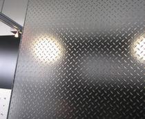 Panneau en verre pour sol / pour meuble / pour porte / pour agencement intérieur
