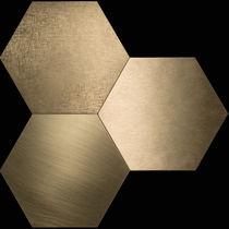 Carrelage d'intérieur / mural / de sol / en métal