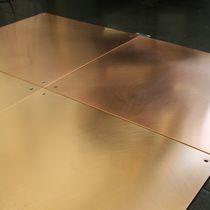 Carrelage d'intérieur / au sol / en bronze / uni