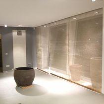 Textile en jute / en fil métallique / pour faux-plafond / pour cloison