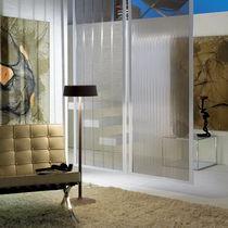 Panneau décoratif / en maille métallique / en stratifié / pour agencement intérieur