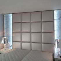 Panneau décoratif en maille métallique / acrylique / pour agencement intérieur