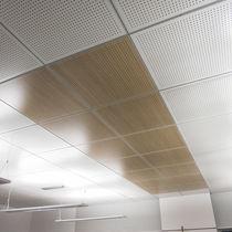 Faux-plafond en bois / en panneaux / en dalles / acoustique