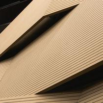 Panneau acoustique pour agencement intérieur / en bois / aspect bois / professionnel