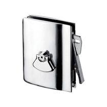 Poignée pour porte coulissante / en métal / contemporaine / avec serrure intégrée