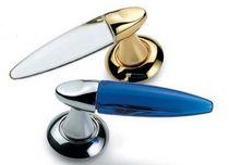 Poignée pour porte en verre / en laiton / en aluminium / contemporaine