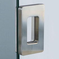 Poignée de tirage pour porte coulissante / en métal / contemporaine
