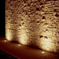 Luminaire encastrable au sol / à LED / halogène / rond