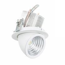 Spot encastrable au plafond / à LED / rond / en fonte d'aluminium