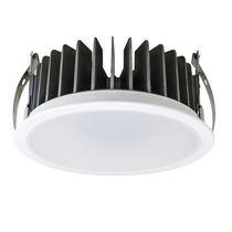 Downlight encastrée / à LED / ronde / d'aluminium