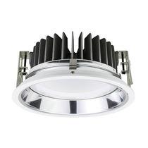 Downlight encastrée / à LED / ronde / en polycarbonate