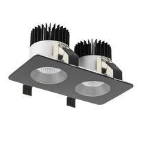 Downlight encastrée / à LED / rectangulaire / carrée