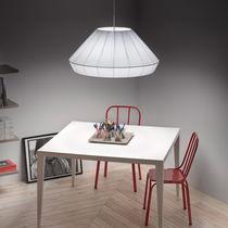Lampe suspension / contemporaine / en fer / fluocompacte