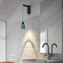 Applique murale contemporaine / en verre borosilicaté / à LED
