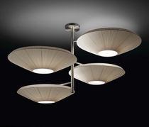 Lampe suspension / contemporaine / en polyester / en méthacrylate