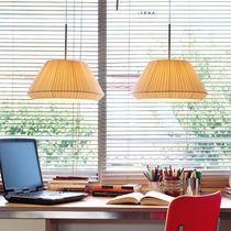 Lampe suspension / contemporaine / en coton / en fer