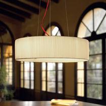 Lampe suspension / contemporaine / en coton / en polyester