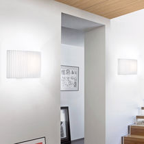 Applique murale contemporaine / en coton / en polyester / à LED