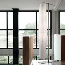 Colonne lumineuse contemporaine / en métal / en tissu / en polyester