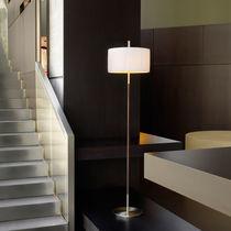 Lampe sur pied / contemporaine / en coton / en fer