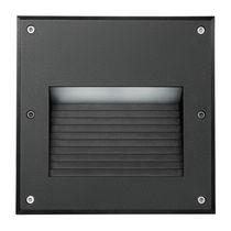 Luminaire encastrable au mur / à LED / carré / d'extérieur