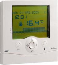Thermostat programmable / numérique / mural / pour chauffage