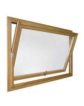 Fenêtre à pivot / en bois