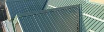 Panneau de toiture en métal / isolant / métal déployé