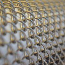 Maille métallique pour cloison / pour faux-plafond / en acier inoxydable / en laiton