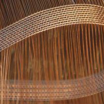 Toile métallique tissée pour cloison / en acier inoxydable / en cuivre / à maillage long