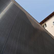 Toile métallique tissée de bardage / en métal / à maillage long