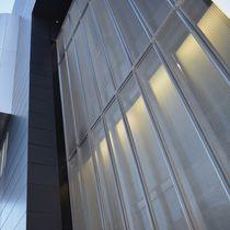 Maille métallique pour façade / à maillage long