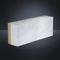 Bloc de béton cellulaire / pour mur / haute performance / avec isolation intégrée