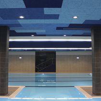 Faux-plafond en bois / en composite / en panneau / acoustique