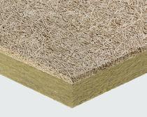 Panneau acoustique pour dalle de faux-plafond / pour faux-plafond / en laine de roche / en laine de bois