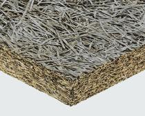 Isolant thermique / thermo-acoustique / en laine de bois / en béton de bois