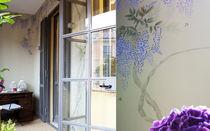 Papiers peints classiques / en soie / à motifs / fait main