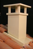 Mitron de cheminée maçonné