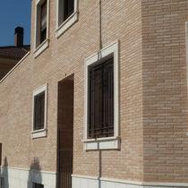 Brique de parement en céramique / pour façade / rustique