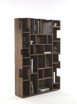 Bibliothèque contemporaine / en bois massif