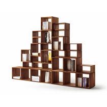 Étagère modulable / contemporaine / en bois massif