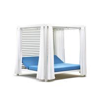 Gazebo en aluminium / toit en toile / pour hôtel