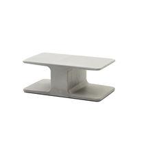 Table basse contemporaine / en ciment / rectangulaire / pour extérieur