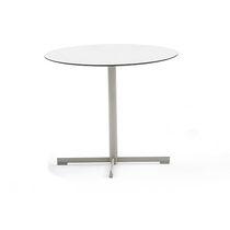 Pied de table en acier inoxydable / contemporain / professionnel