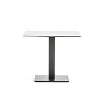 Pied de table en acier à revêtement par poudre / contemporain / contract