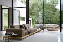 Canapé modulable / contemporain / de jardin / en tissu