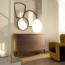 Miroir mural / contemporain / rond / rectangulaire