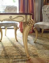 Table à manger de style / en noyer / rectangulaire / à rallonge