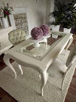 Buffet de style / en bois laqué / blanc