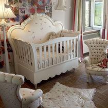 Lit simple / de style / pour bébé / en bois